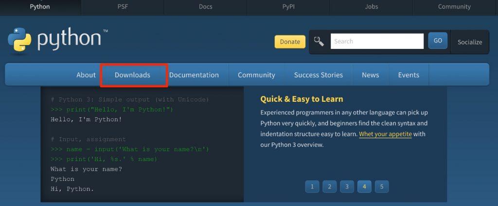 Python3のインストール方法(Mac)